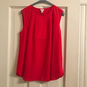 J.Crew Factory Red Blouse